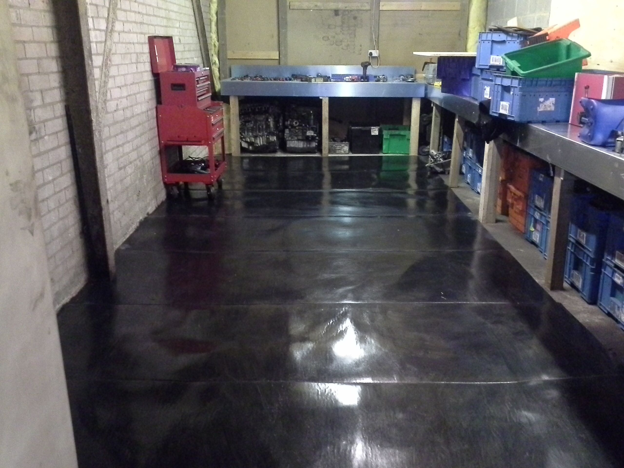 Workshop Floor Protection Made From 100 Recycled Conveyor Belt