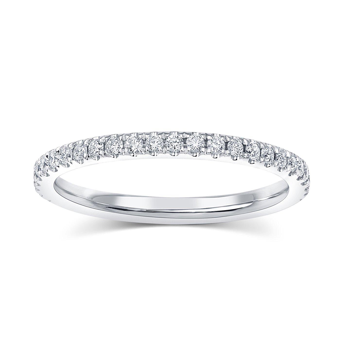 Julia Diamond Eternity Band | Diamond wedding bands ...