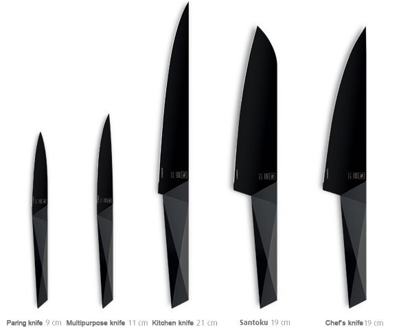 The Furtif's Evercut Technology Results In A Truly Exceptional Unique Kitchen Knife Design Inspiration