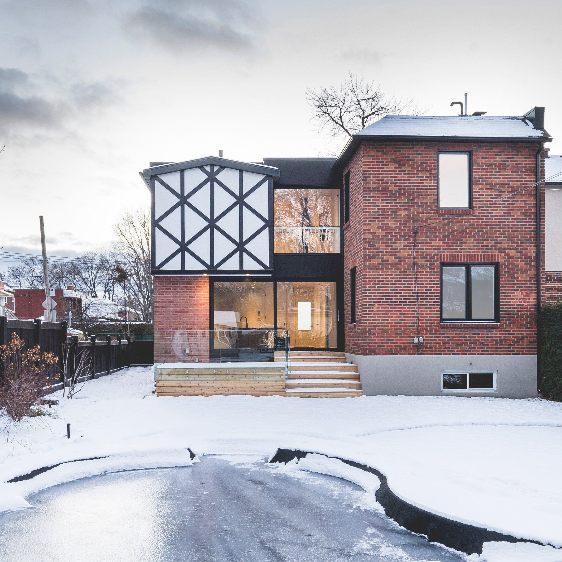 Superior During The Renovation Of This Montreal Home, Local Firm L McComber  Architects Reinterpreted Its Mock