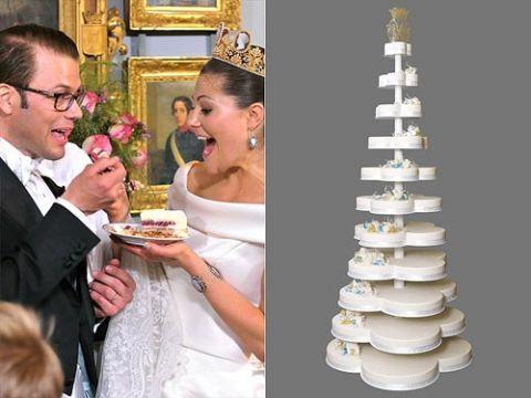 Princess Victoria Of Sweden Wedding Cake The Wedding Royal