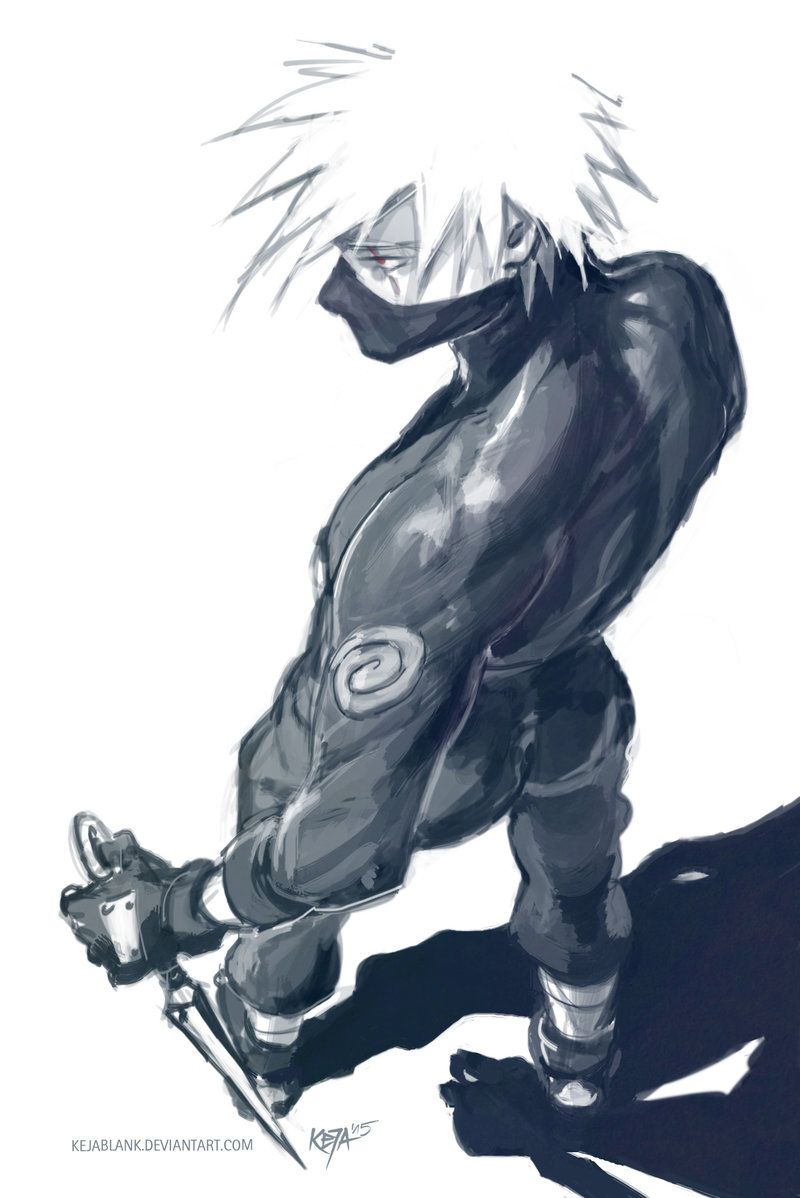 Don't mess with me - Kakashi Hatake by Keja Blank