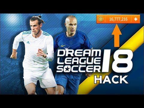 Dream League Soccer 2018 Mod Apk Unlimited Coins Youtube Soccer Kits Soccer Training Tool Hacks