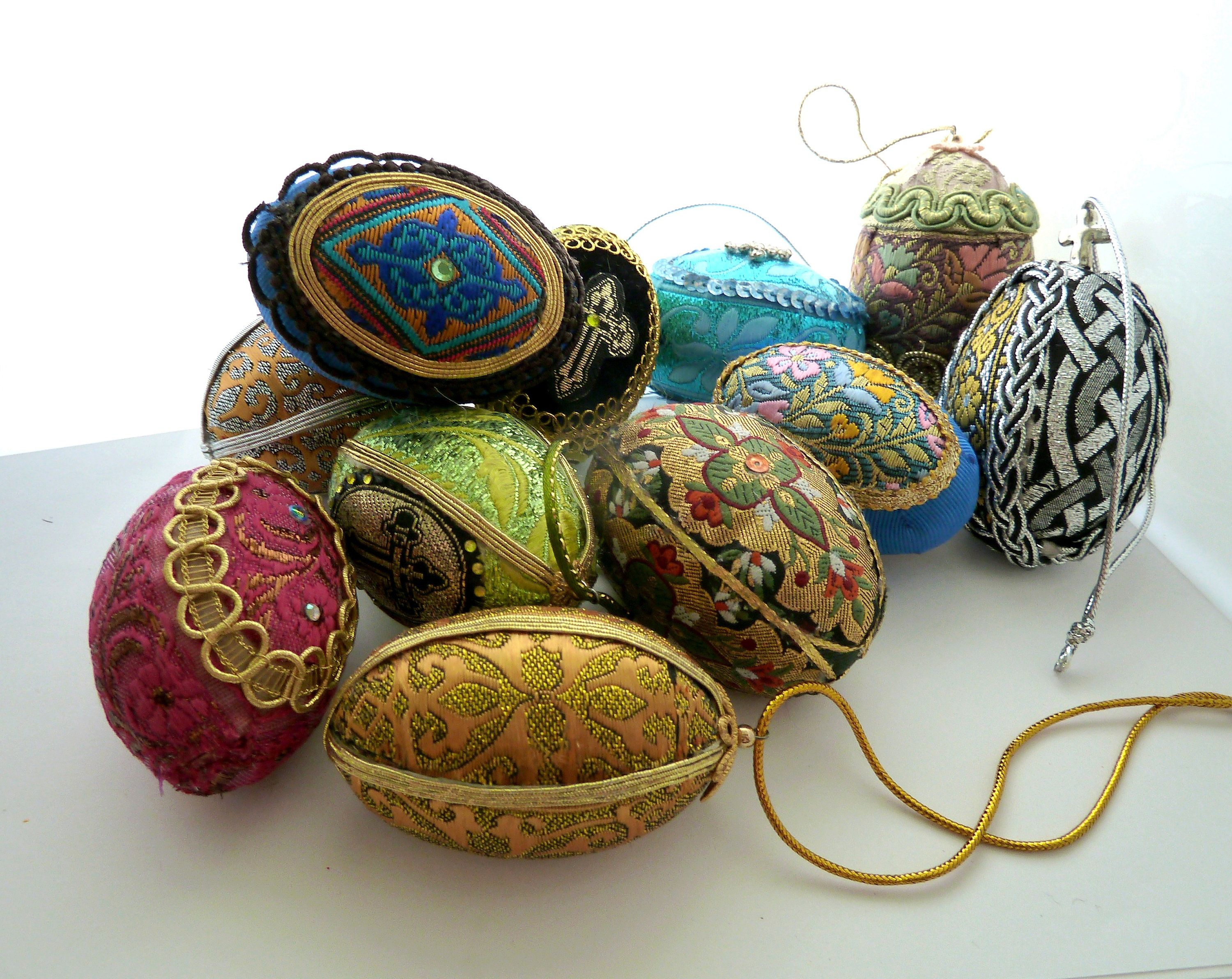 Easter egg textile art egg inspired by faberge russian traditions easter egg textile art egg inspired by faberge russian traditions easter faberge style multi color negle Image collections