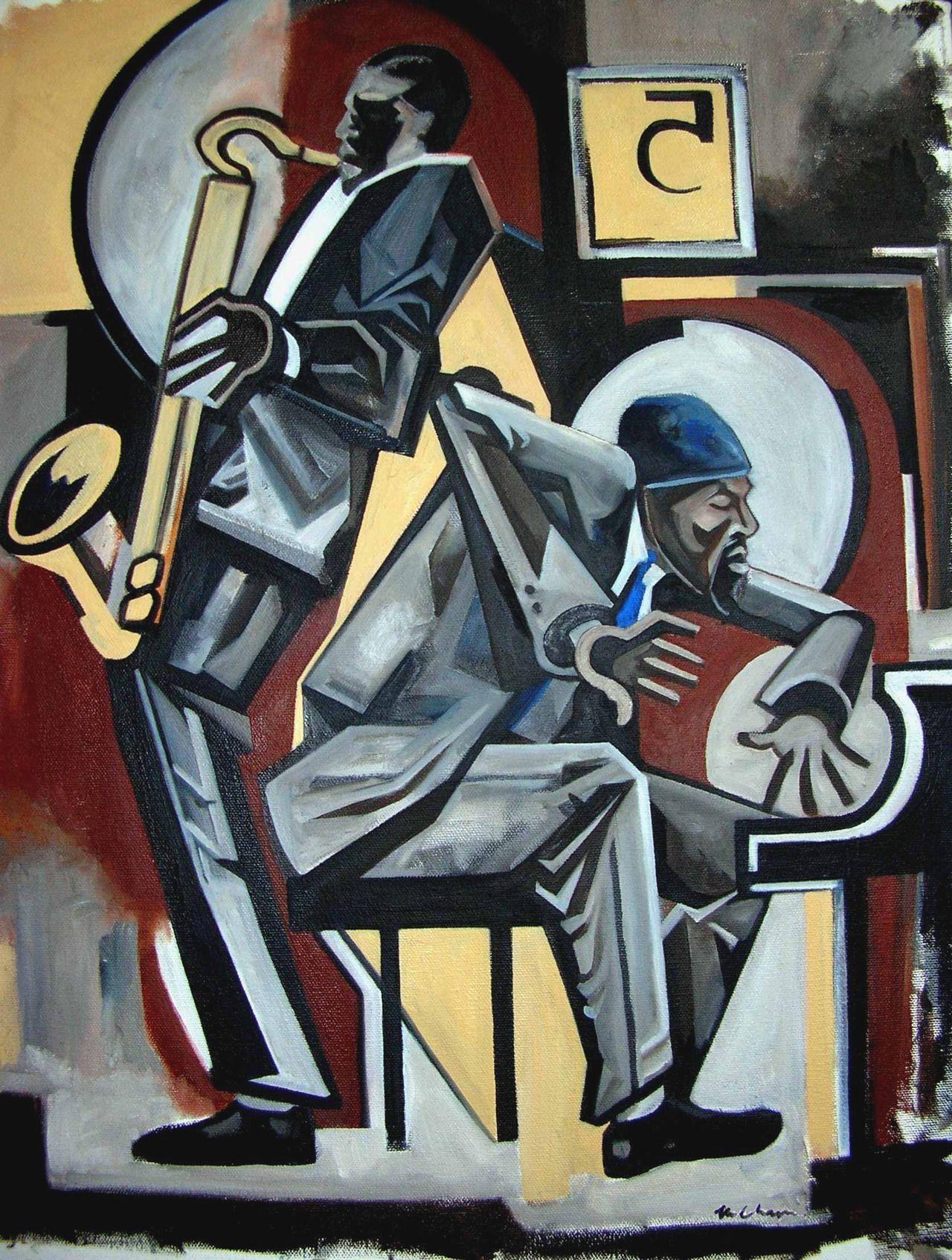 Martel Chapman Monk and Coltrane, Five Spot, 1957 New