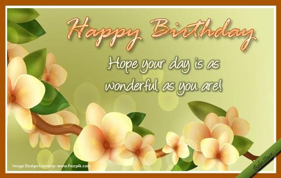 Happy Birthday Message Simple ~ A beautiful #birthday wish for the wonderful you! happy birthday