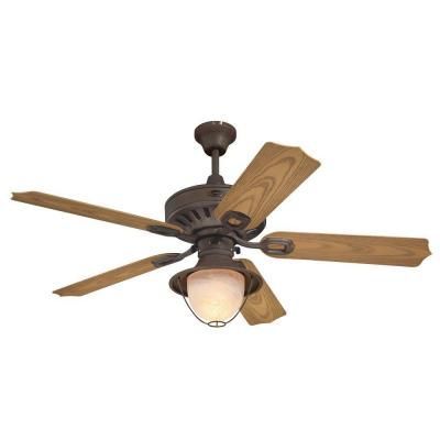 Westinghouse Layfayette 52 in. Indoor/Outdoor Weathered Iron Ceiling Fan-7877865 at The Home Depot