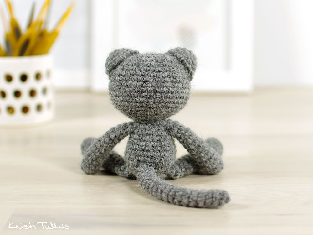 Free Crochet Cat Pattern And Tutorial Crochet Pinterest