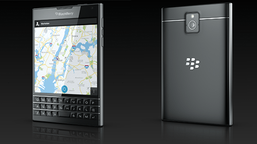 BlackBerry , Square display.