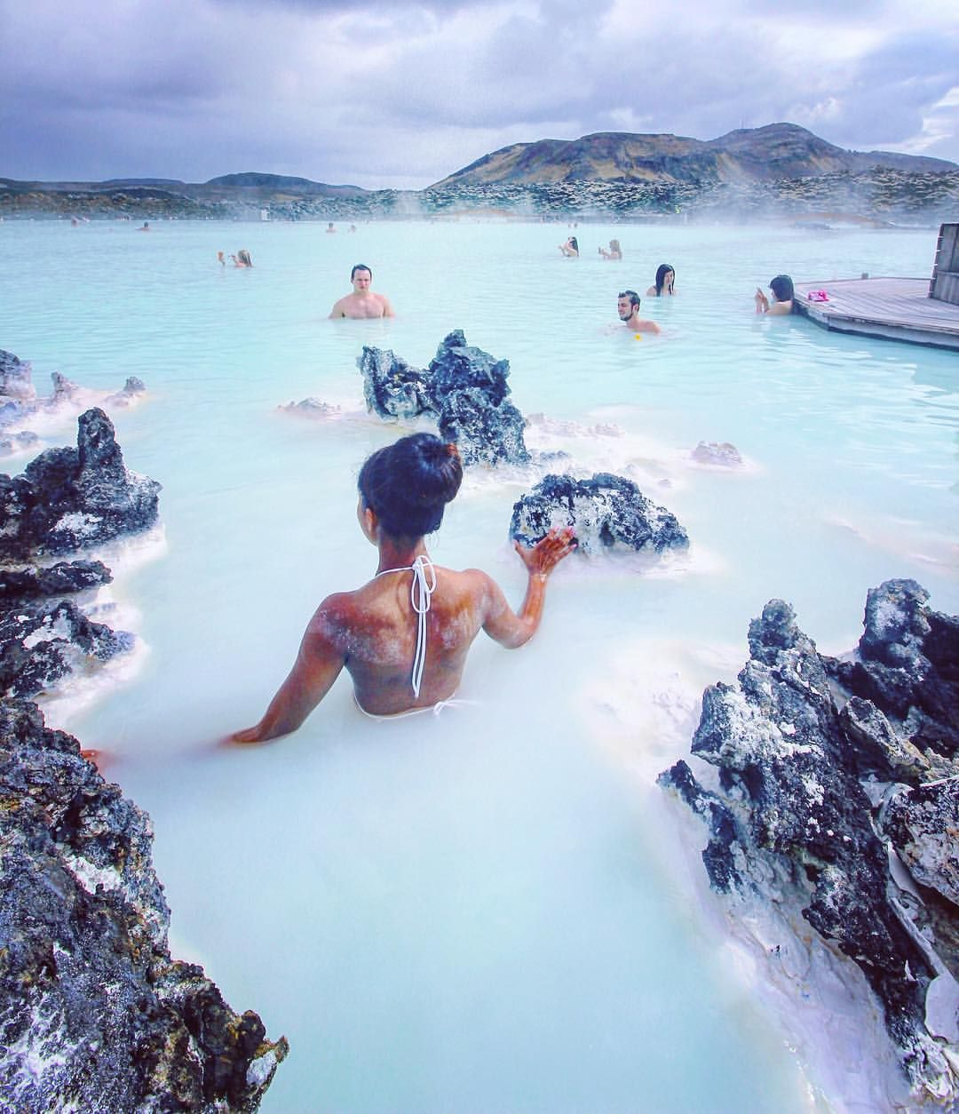 12 Best Island Images On Pinterest: Blue Lagoon, Iceland // @melissa.larissa Via Instagram
