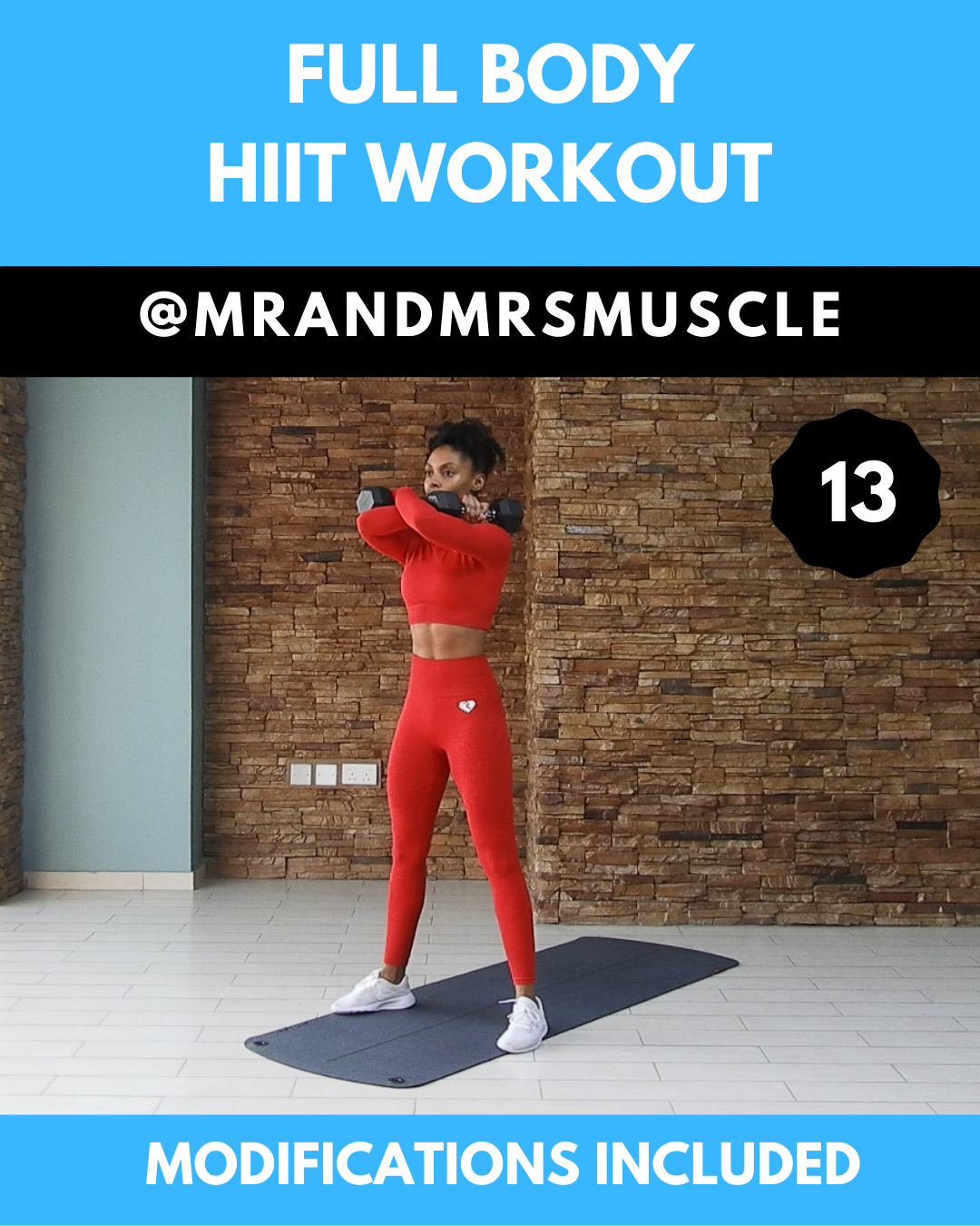 Full Body Workout - HIIT -  Full body HIIT exercise with weights #fullbodyworkouts #workoutroutine #...