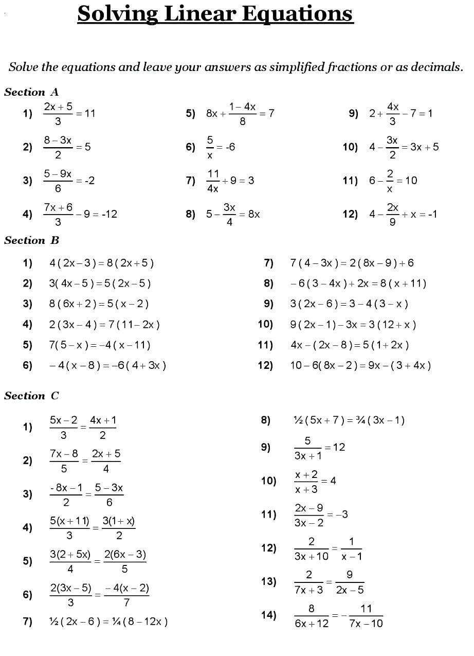 8th Grade Math Problems   8th grade math worksheets [ 1275 x 922 Pixel ]