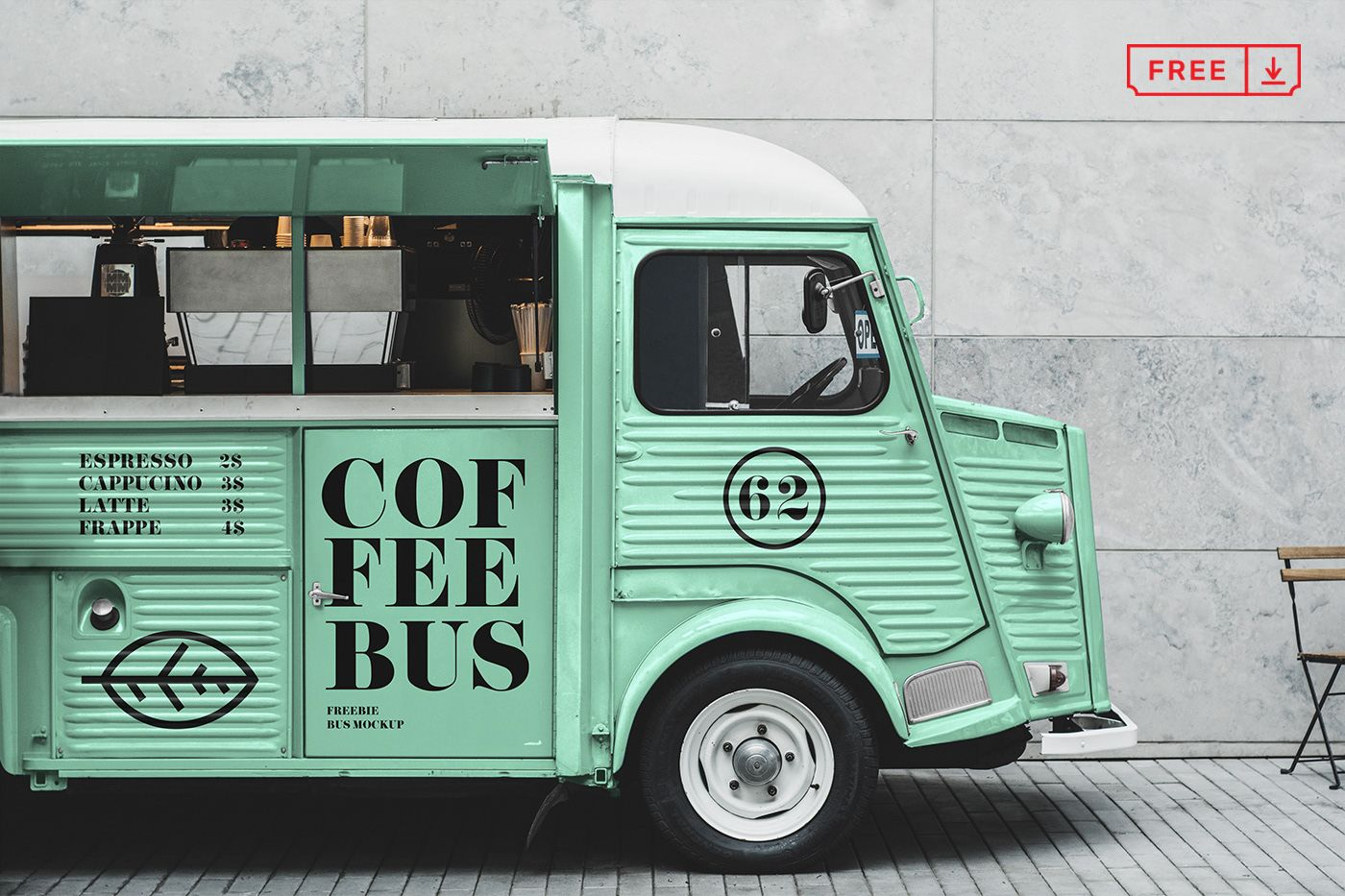 Free Citroen Food Truck Mockup On Behance Food Mockup Graphic Design Freebies Mockup Free Psd