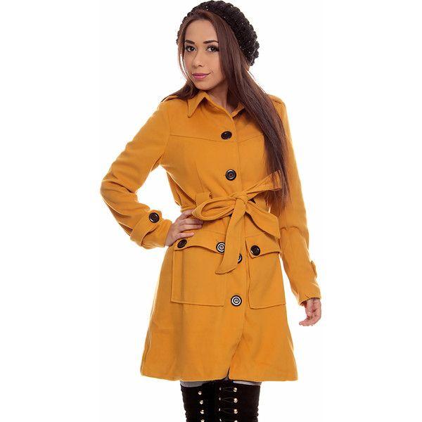 Fashion Women/'s Coats Winter Belted Long Sleeve Coat Jacket Long Trench Outwear