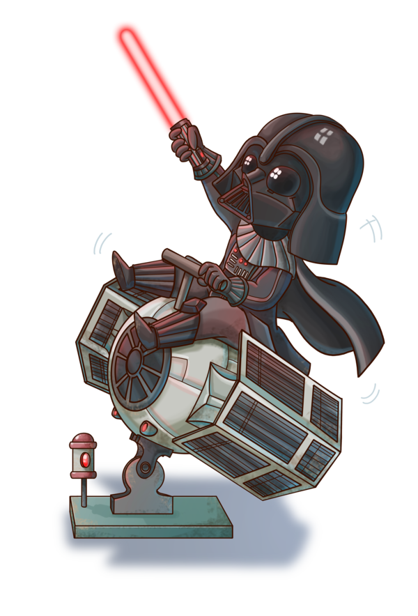 Chibi Vader By Fufunhadeviantartcom On At Deviantart