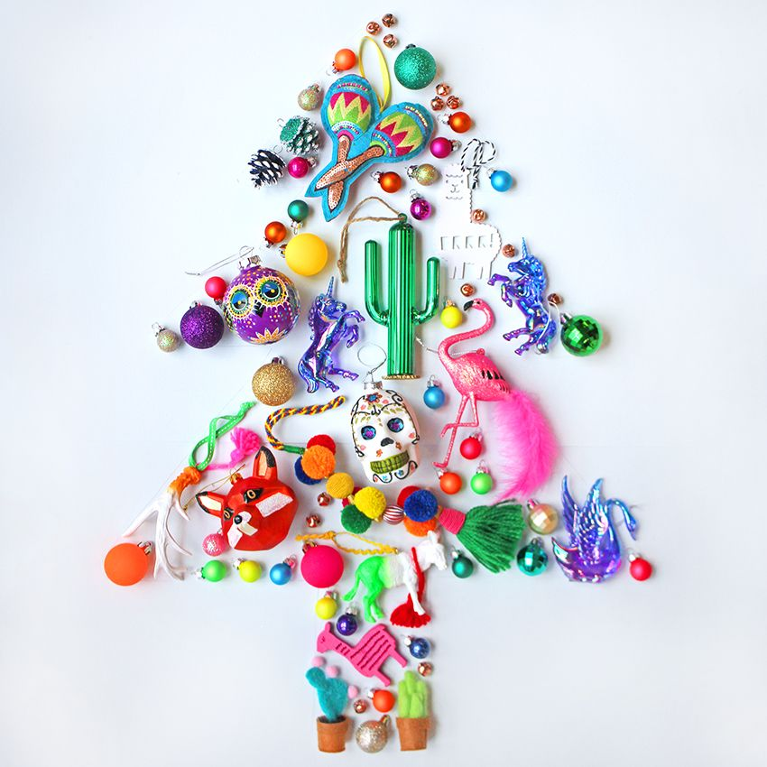 Mexican themed christmas decorations merry bright for Mexican christmas ornaments crafts