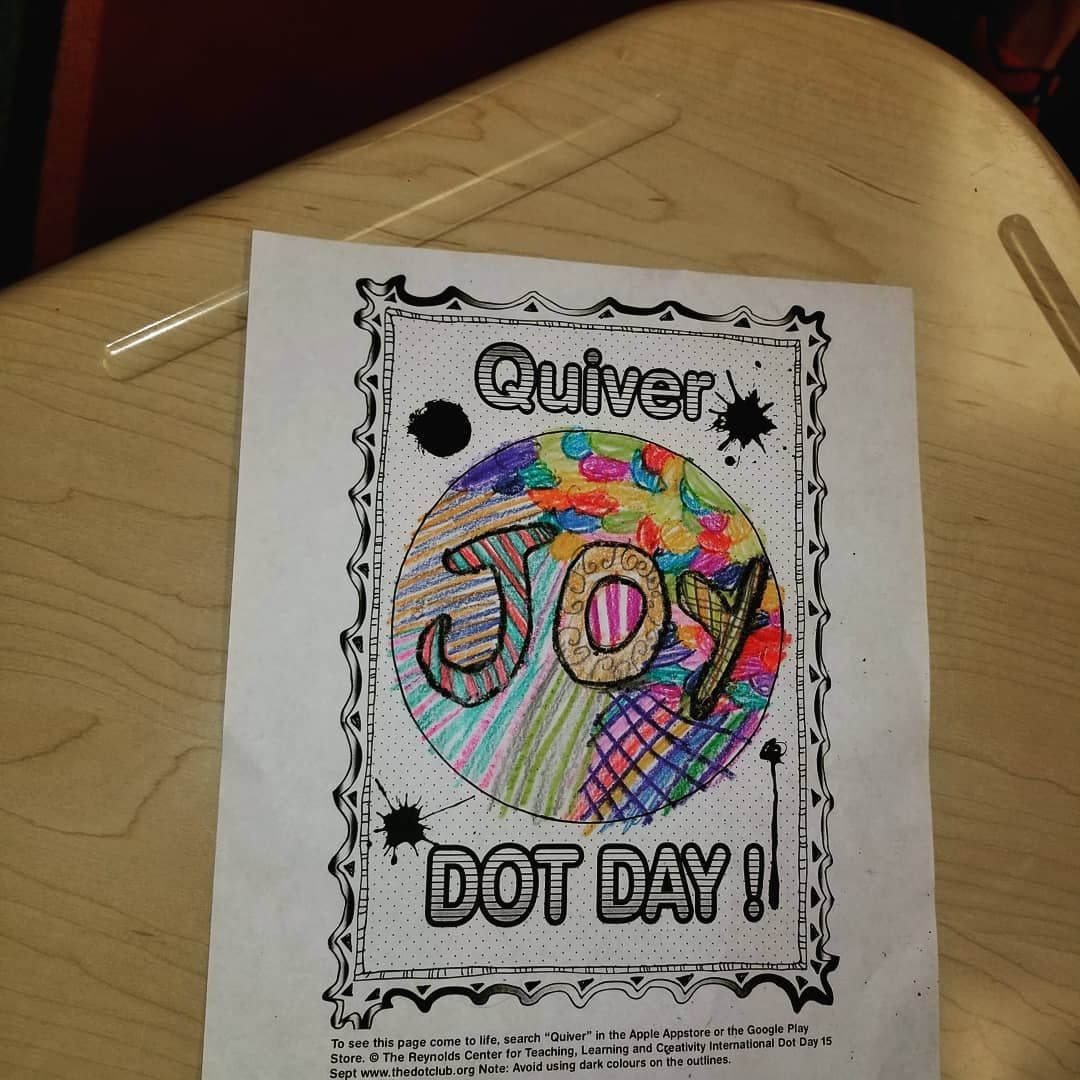 Garlandgreats Celebrated Dot Day By Decorating Dots And Then