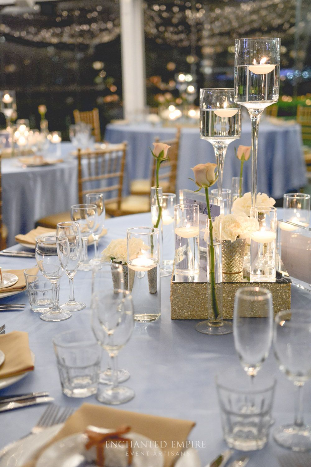 Powder Blue + Grey Wedding Powder Blue + Gold Wedding in