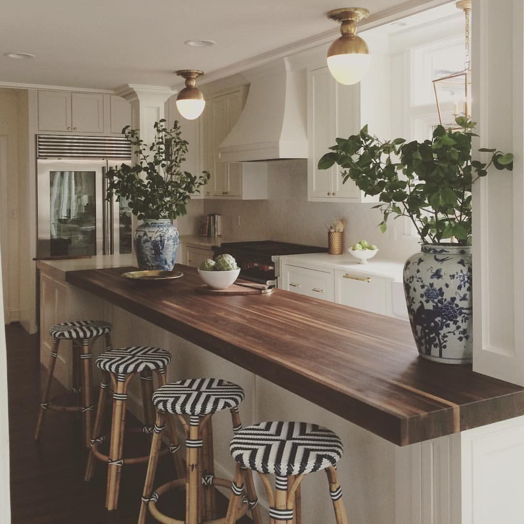 Modern Walnut Kitchen Cabinets Design Ideas 35 in 2020 ...