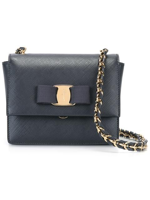 92802cd0e82f SALVATORE FERRAGAMO mini Ginny crossbody bag.  salvatoreferragamo  bags  shoulder  bags  leather  crossbody
