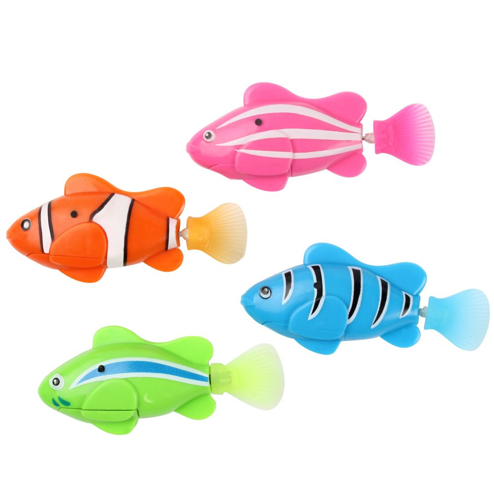 2016 Hot Electronic Pets Home Robofish Aquarium Decorations Robot Fish Robo Toys Fish Tank Decor Accessories Kf Trang Tri đồ Chơi Robot