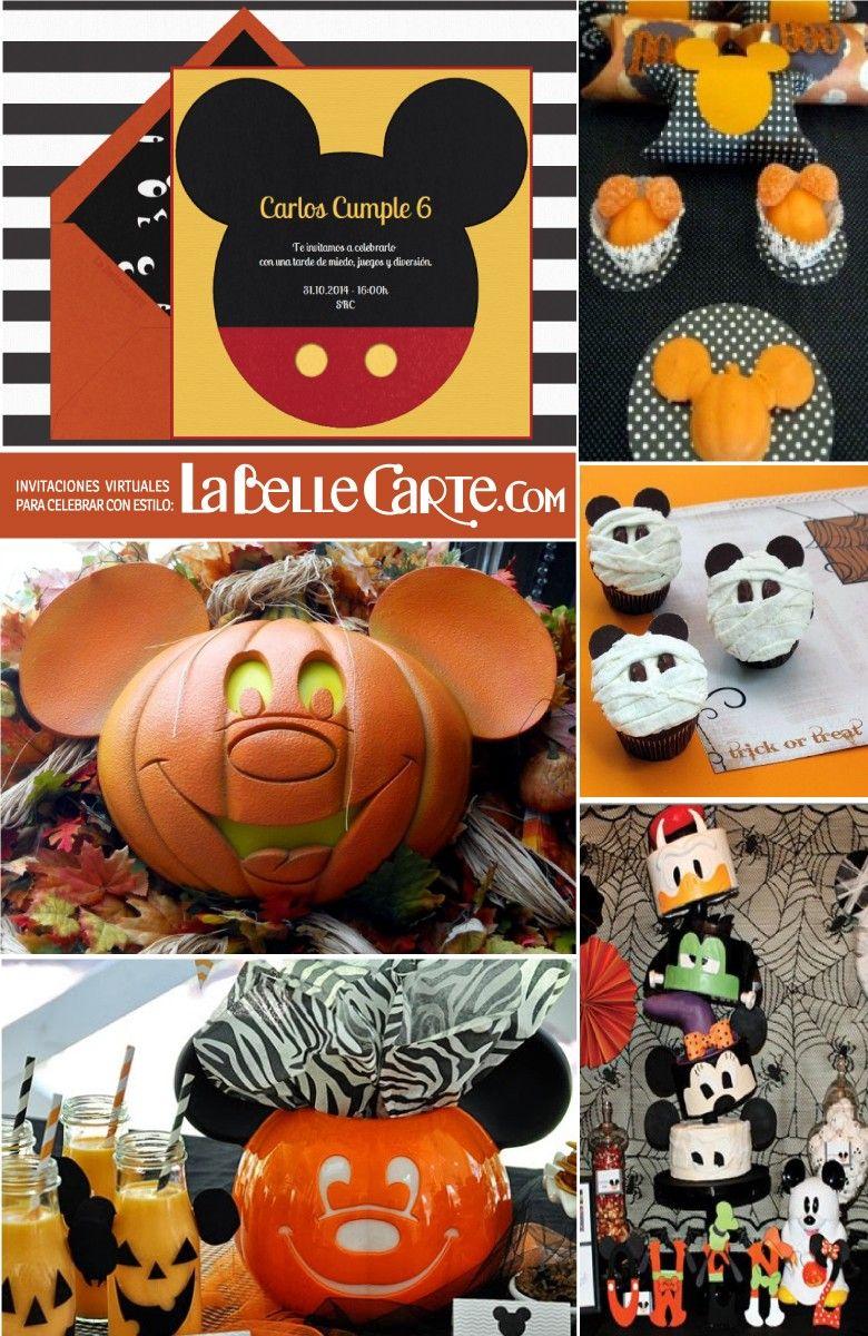 Invitaciones infantiles e ideas para celebrar un - Fiesta halloween infantil ...