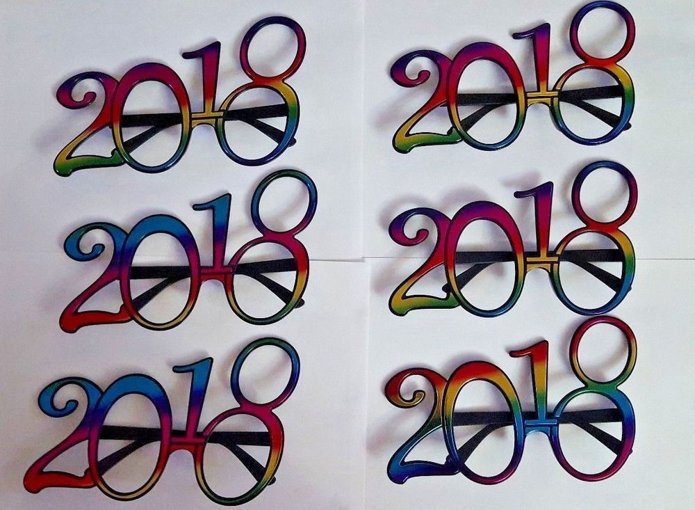 2018 new years eve party glasses New years eve party