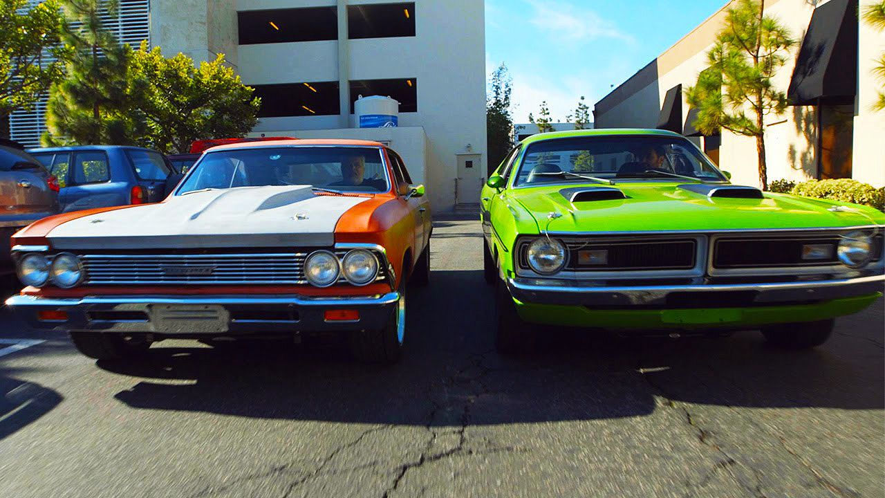 71 Dodge Demon 340 VS 66 Chevelle LS Powered | American Muscle Power ...