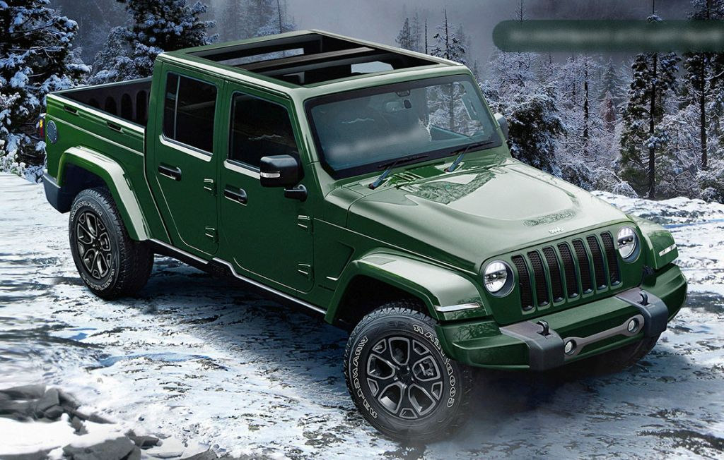 New Spy Shots Show 2020 Jeep Wrangler Pickup With Production Ready Truck Bed Jeep Wrangler Pickup Truck Jeep Wrangler Pickup Wrangler Pickup