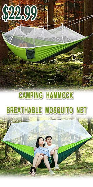 Mosquito Tent Patio: Camping Hammock With Mosquito Net Double Hammock Outdoor