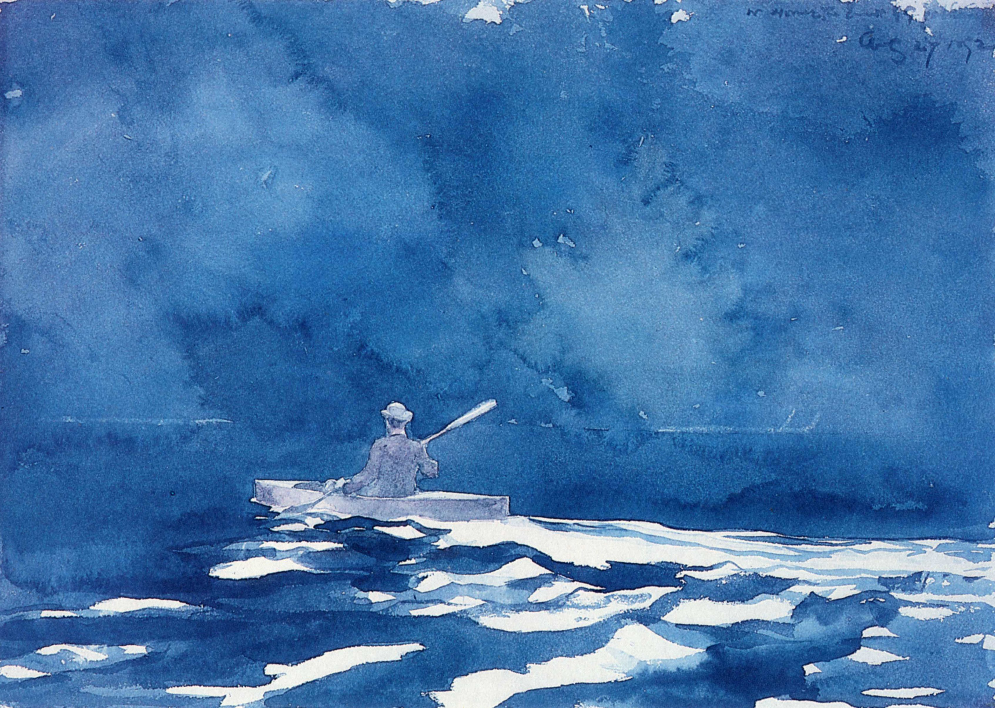 Into The Wide Blue Yonder With Winslow Homer Winslow Homer