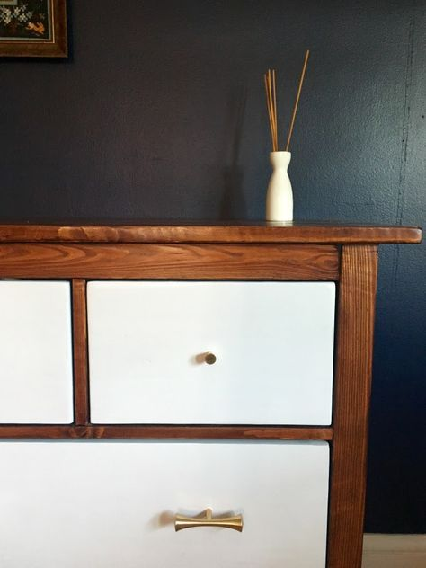 Best Ikea Hemnes Dresser Turned Mid Century Modern Ikea 400 x 300