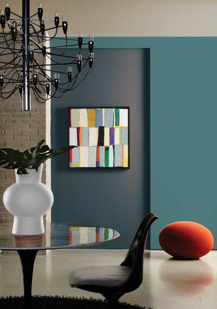 Quelle peinture choisir pour lu0027intérieur, idées en 55 photos - Peindre Un Mur Interieur