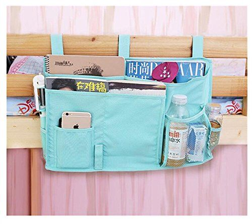 Osier Oxford Baby Bedside Multifuntion Pockets Book Toy Water Diaper Velcro Storage Bag * You can find out more details at the link of the image.