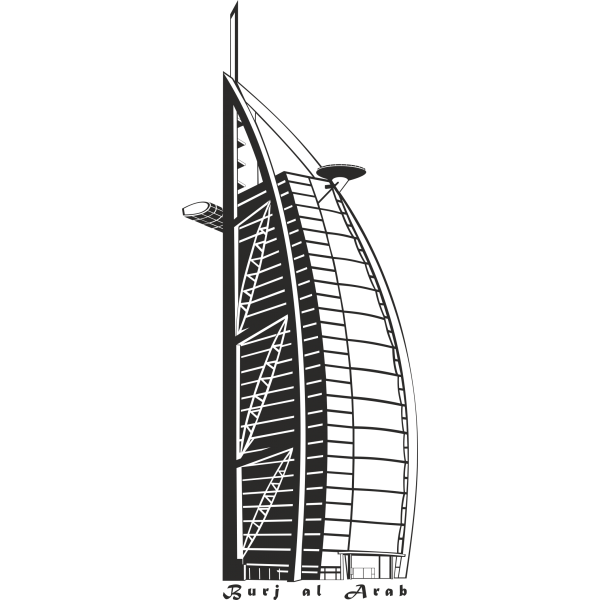 Vinilo rascacielos Dubai | Proyectos que debo intentar | Pinterest ...