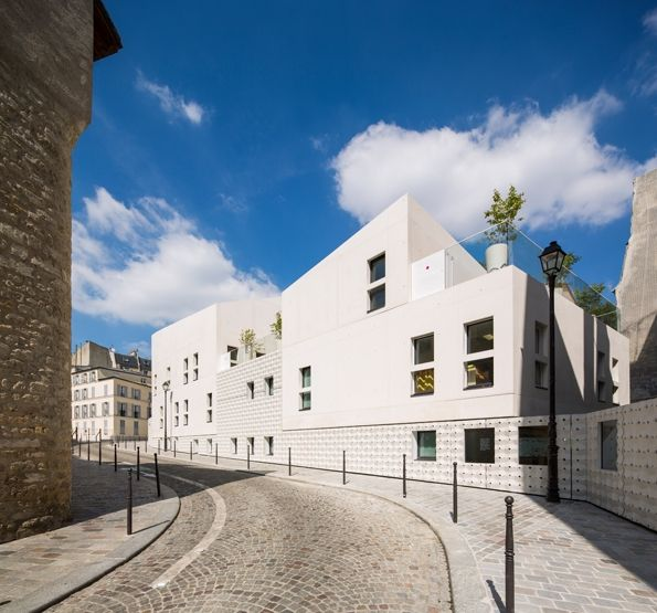 Maison de la petite enfance - scol : rh+ architecture