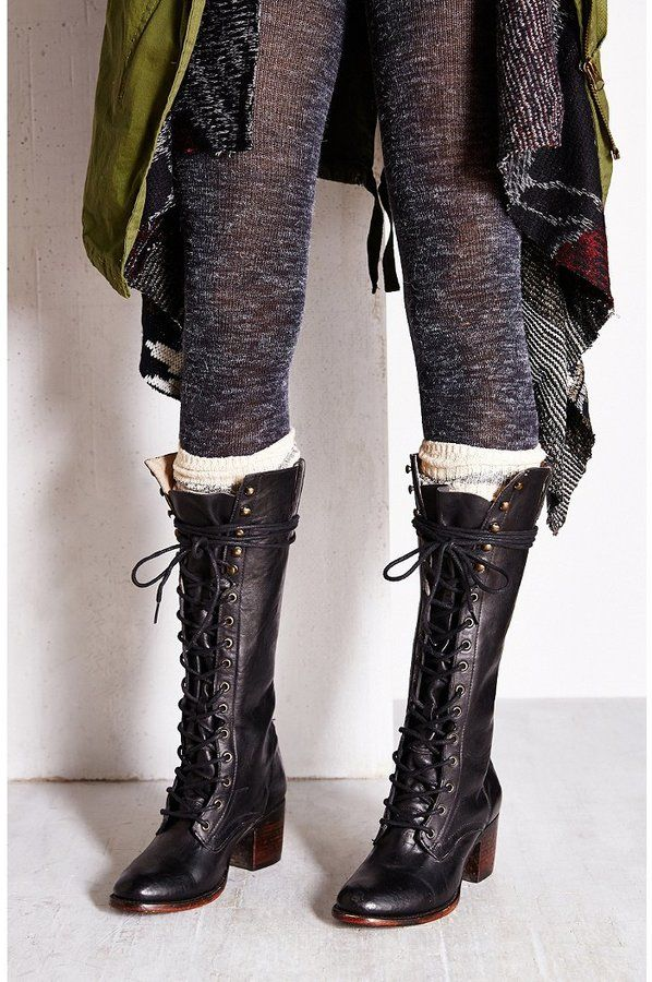 d3f97a8788a FREEBIRD By Steven Granny Lace-Up Tall Boot at Urban Outfitters ...