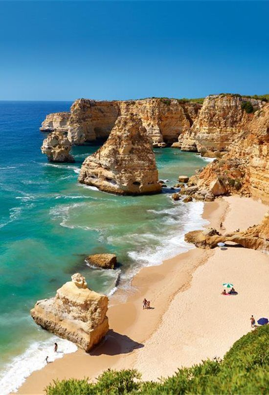Coastline and Beaches Land Tour in Albufeira, Portugal #portugal