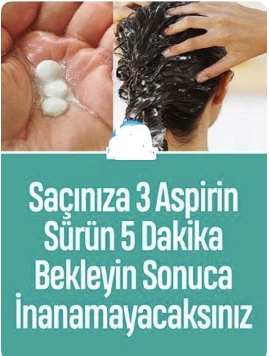 Aspirinli Sac Maskesi Ve Aspirinle Sac Bakimi Sac