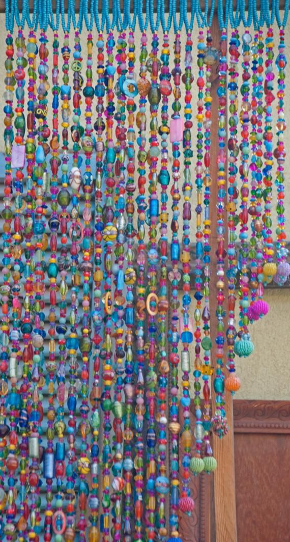 Colorful Bohemian Hand Made Hanging Door Beads in
