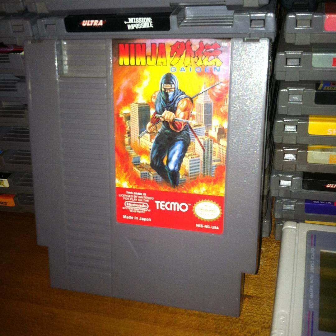 Game Before Work Ninjagaiden Nes Nintendo Tecmo Ninja