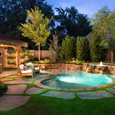 Natural Private Residence - eclectic - pool - dallas - Pool Environments, Inc.