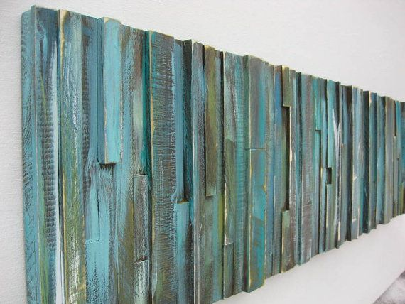 Wood Wall Art Abstract Painting On Wood Wood Wall Sculpture Distressed Wall Art Wooden Rustic Wood Decor Wall Hanging Green Wall Art Wood Wall Art Distressed Wall Art Distressed Wood