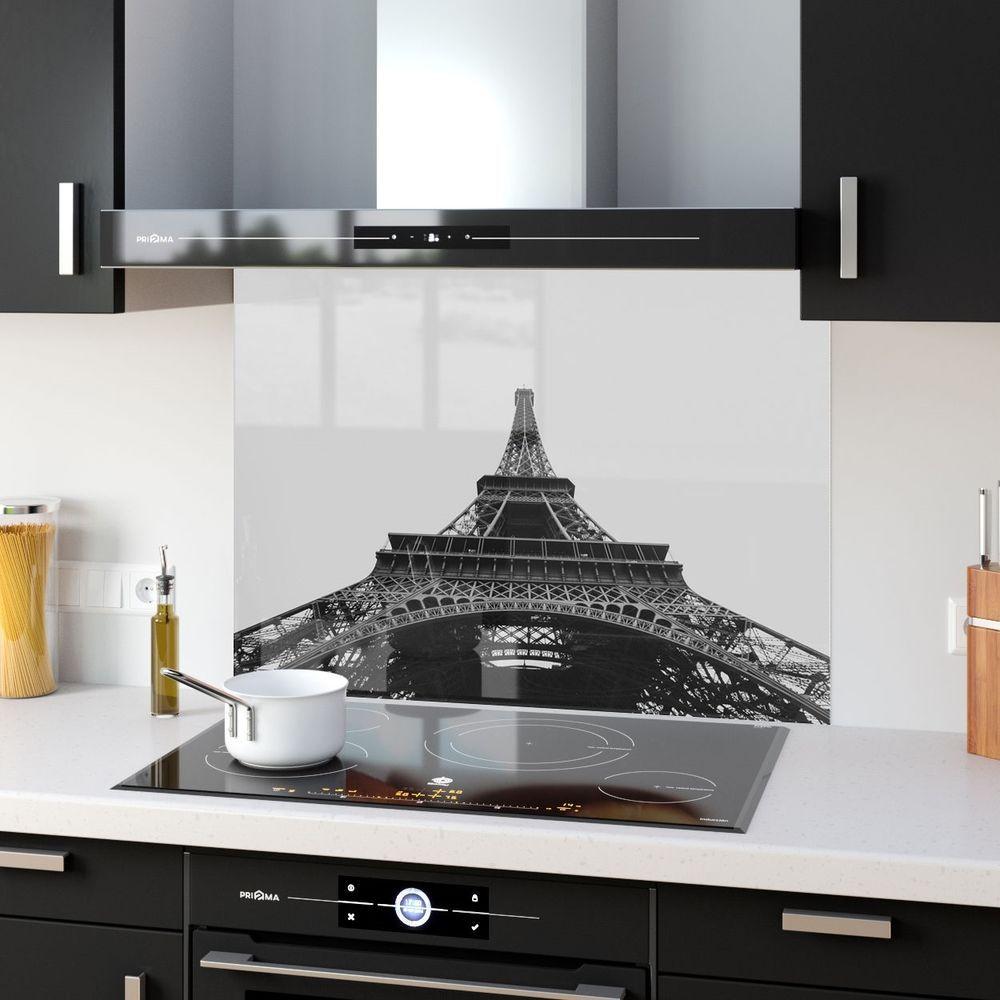 Colour Range Kitchen Glass Splashback Eiffel Tower p24167 90x65cm ...