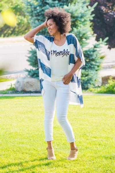 Newport Cardigan www.sexymodest.com #summerstyle #momlifetee #whitejeans #neudeheels
