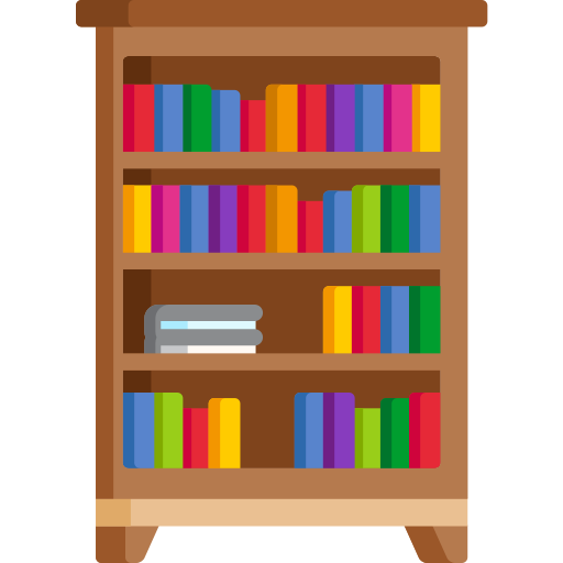Bookshelf Free Vector Icons Designed By Freepik In 2020 Free Icons Vector Free Vector Icon Design