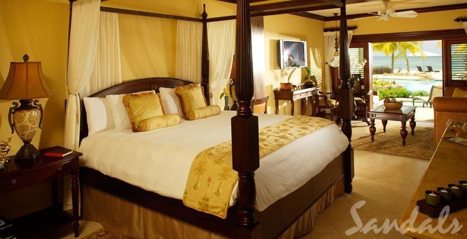 Best Sandals Negril Beachfront 1 Bedroom Swimup Suite With 400 x 300