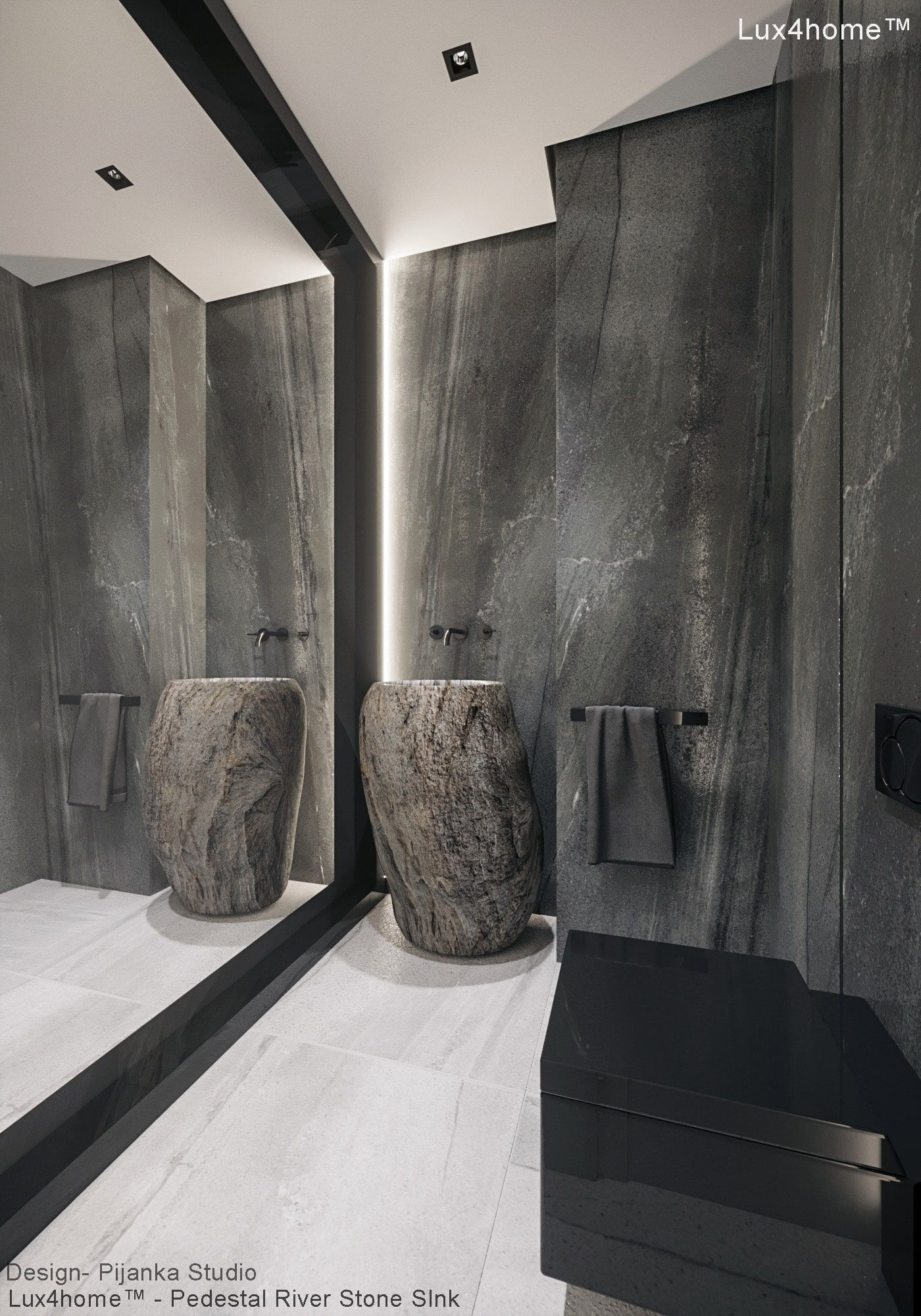 Stone Sinks Collection Made By Lux4home In Indonesia Stone Sink Pedestal Sink Stone Bathroom Sink