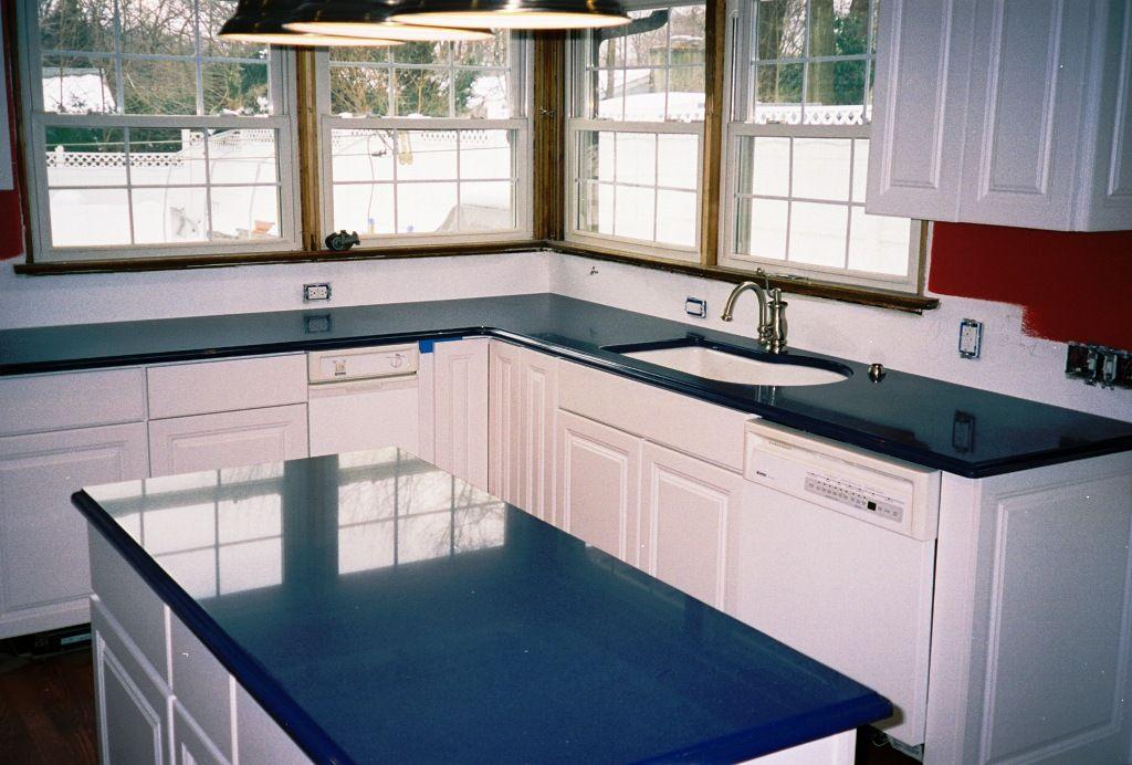 Best Idea Of Cobalt Blue Quartz Countertops Outdoor Kitchen Granite Slab