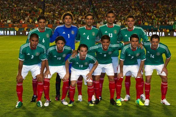 fotos de la seleccion mexicana copa confederaciones 2013 | Le espera un pesado 2013 a la ...